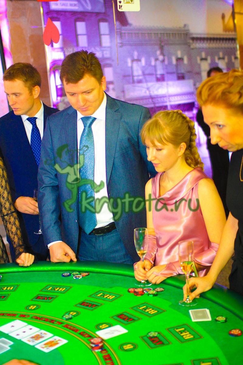 декорации казино